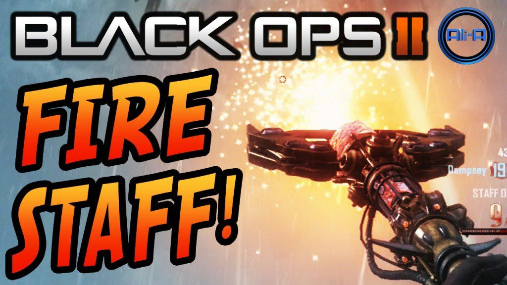 Black Ops 2 - Origins Zombies - Fire Staff