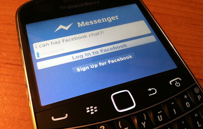BlackBerry - Facebook