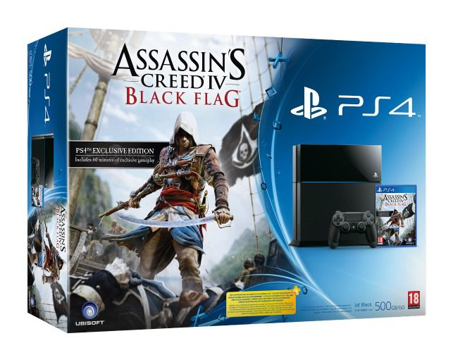 PS4 bundel met Assassins Creed IV Black Flag