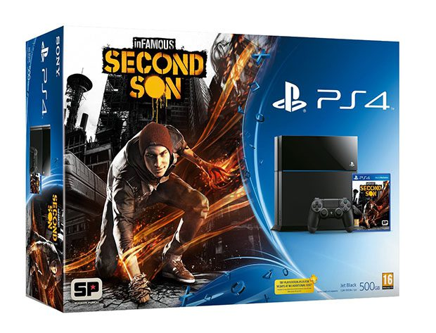 PS4 Infamous Second Son bundel