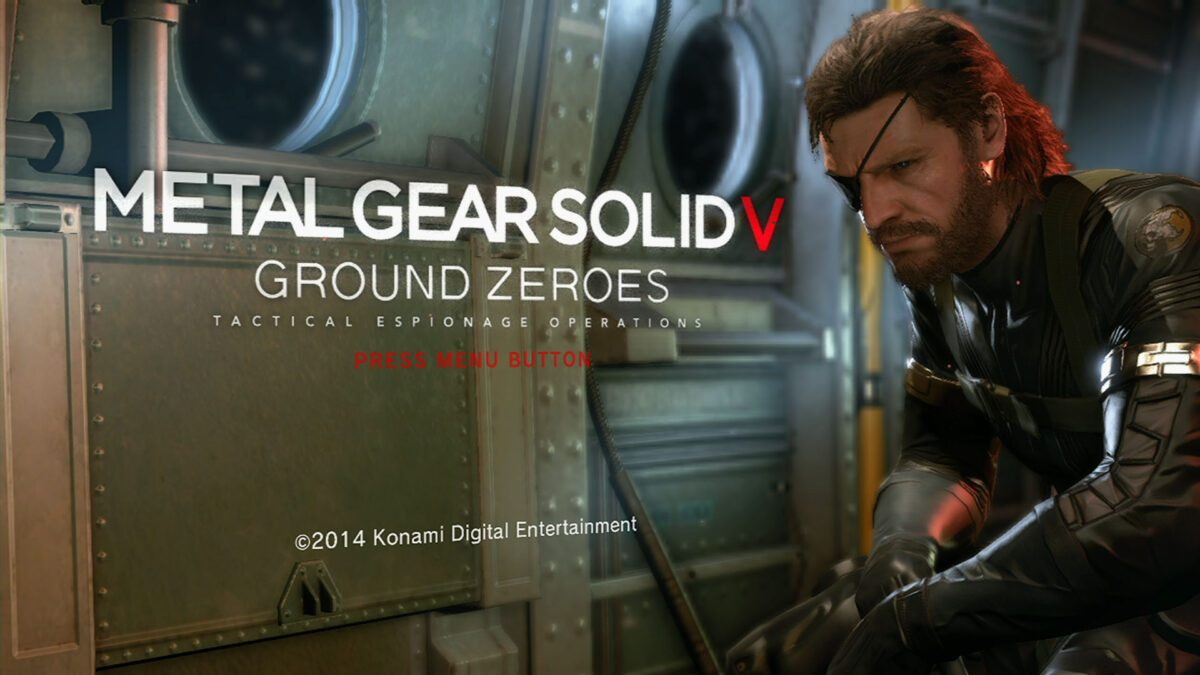 MGS V - Ground Zeroes