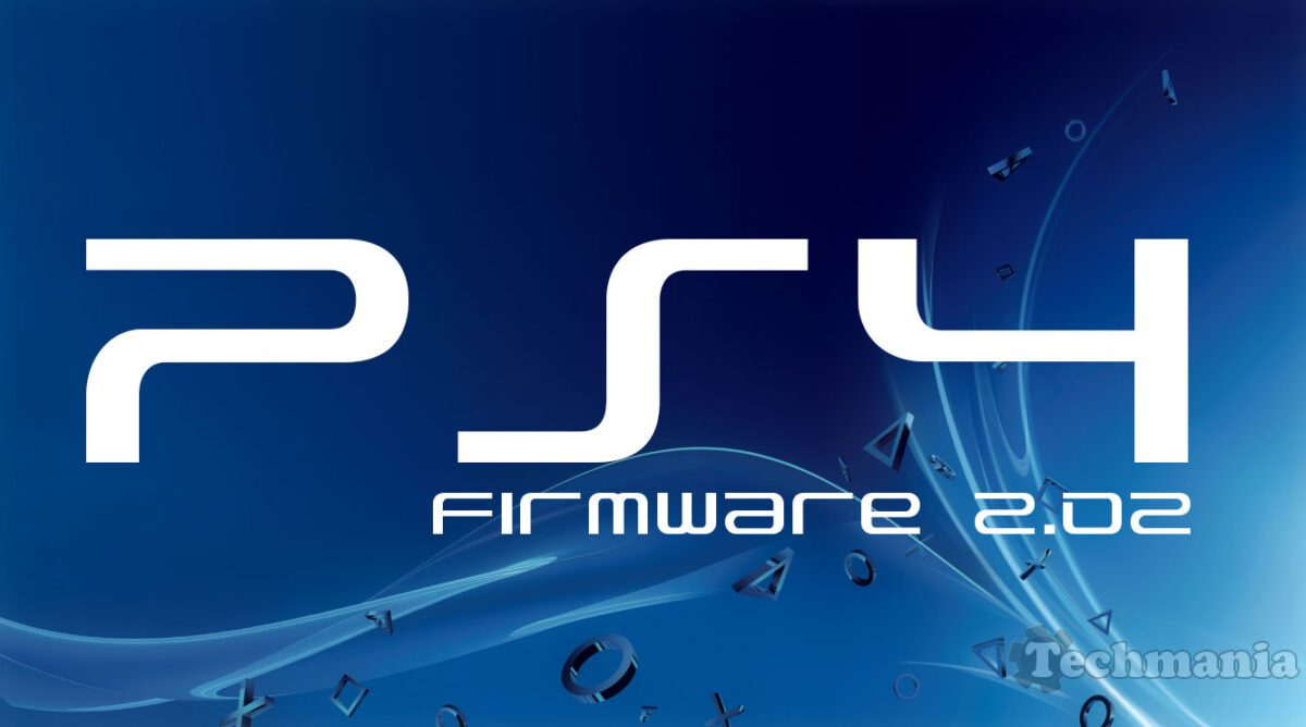 PS4 - firmware 2.02