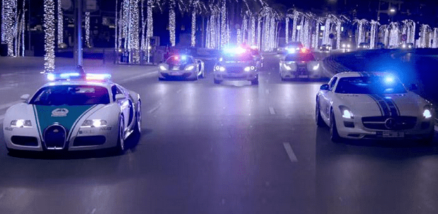 Luxurious Super Patrol Cars for a Luxurious City