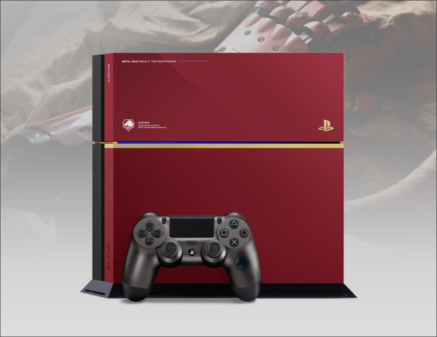 PS4 - Rood