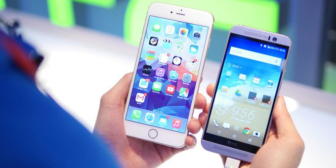 HTC One M9 vs. iPhone 6 Plus