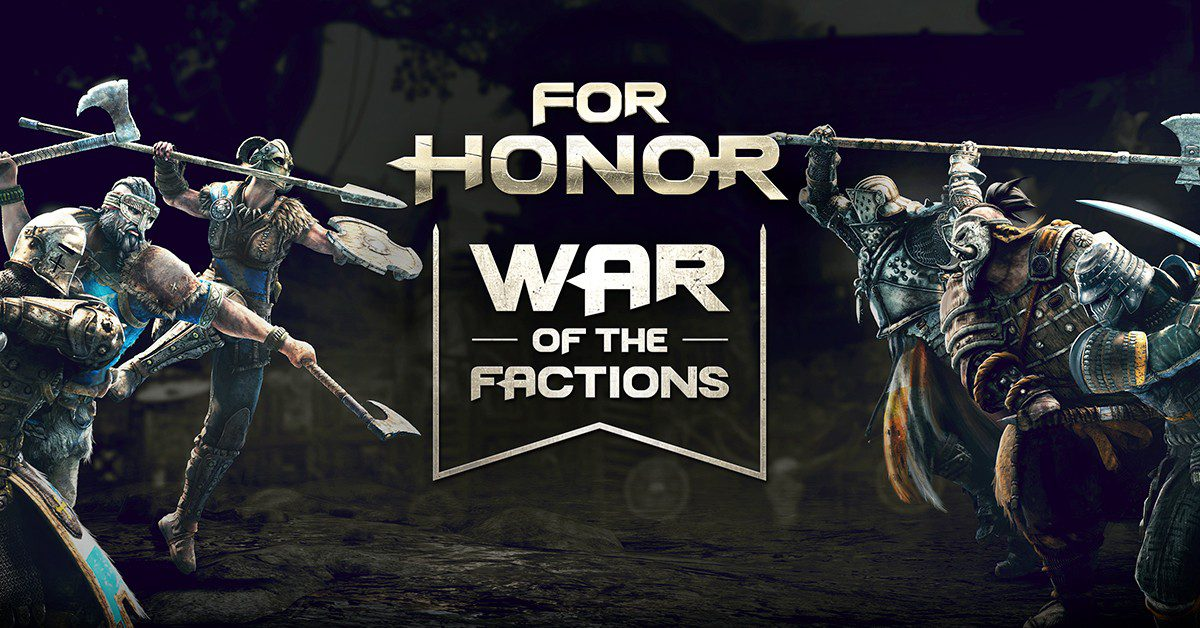 For Honor War of the Factions bèta