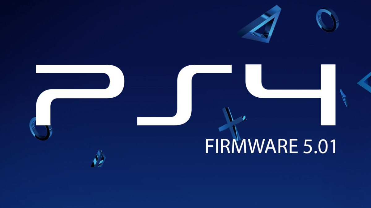 PS4 firmware 5.01