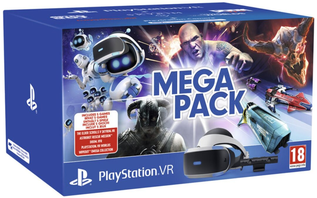 PlayStation VR Mega Pack bundel